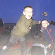 Takhle se řadí na Rybičky 48 - Šimon a Jáchym (9 a téměř 4 roky)