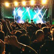 Atmosféra uprostřed koncertu